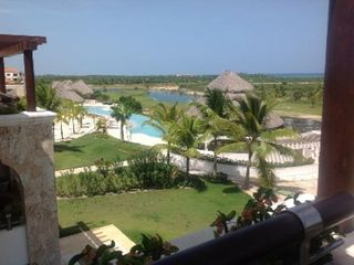 Punta Cana condo photo - Penthouse is right above the swimming pool and spa areas.
