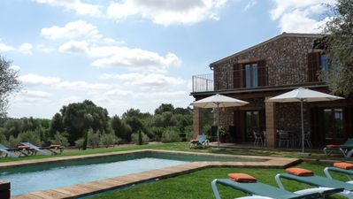 Rural property 'Ses Moreres' for 8 with pool and large garden