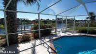 Single Family Gulf Access Waterfront Pool Home That Is Close To Everything