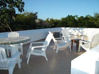 Playa del Carmen house photo - Rooftop patio
