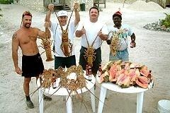 Cat Island villa rental - Large Lobster & Conch