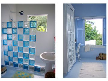 ....interiors in classic Caribbean blue