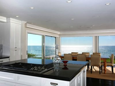 Amazing ocean view from kitchen