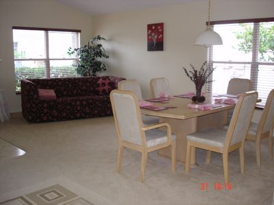 Chatham Park villa rental - Dining room with sofa bed