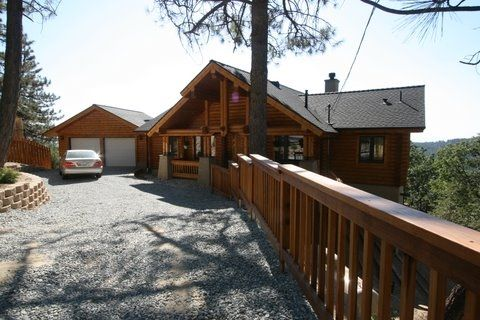 Idyllwild Vacation Rental Log Cabin In The Vrbo