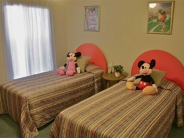 Mickey & Minnie Sleep here!