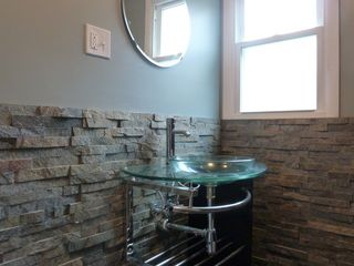 Copake house photo - Newly renovated bath with large shower stall