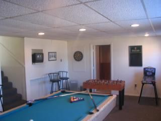 Westerly house photo - .Game Room with TV / Pool Table / Foosball / 1/2 bath / washer & dryer