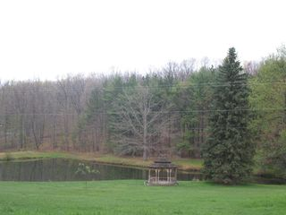 Swanton cabin photo - Neighborhood Fishing Pond and Gazebo