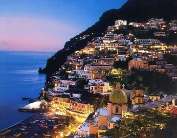 Amalfi Coast on a Summer evening
