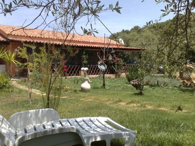 At only five minutes from beautiful beaches, a home  hidden in an olive grove for a relaxing holiday.