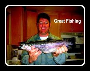 Twain Harte cabin photo - A local catch; Great fishing!