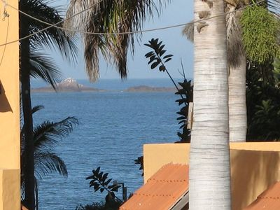 Mazatlan condo rental - from our balcony