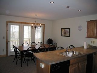 Jay Peak condo photo - Kitchen Dining Balcony
