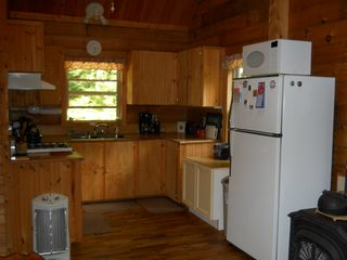 Green Lake cabin photo - Kitchen