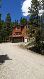 Baldy Mountain Breckenridge house rental - The sky really is that blue!