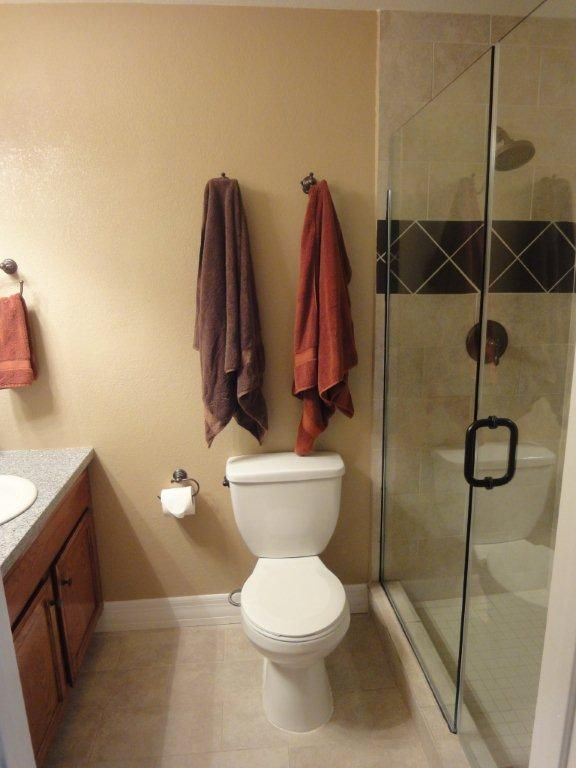 Masterbath with large shower