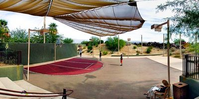 Basketball Court On-Site at the Club Intrawest Palm Desert