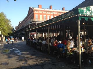 New Orleans studio photo - Cafe Du Monde - French Market/Decatur Street