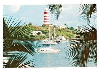 Elbow Cay and Hope Town villa photo - The owner's trimaran heading out of the harbor for a day of sailing