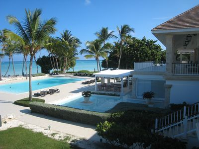 Magnificent villa in Tortuga Bay Resort, overlooking 'La Cana' Golf Course