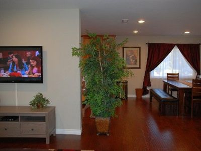 "Family Room - 50"" HDTV with Blue-Ray/DVD Player"