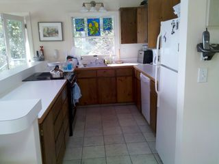 Christmas Cove house photo - .Kitchen. Dishwasher, microwave, stove and refigerator.