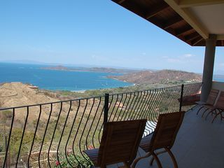 Playa Hermosa house photo - Terrace Vew from Bedrooms