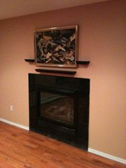 gas fireplace - Albrightsville house vacation rental photo