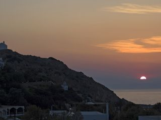 Syros apartment photo - Sunset in Galissas