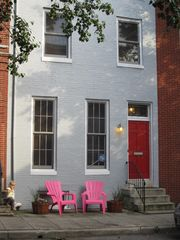 Baltimore house photo - 3-story rowhouse steps from Camden Yards