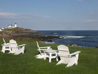 York house photo - Wide angle view looking toward Nubble Light