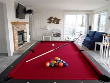 Have some family fun in this room - Music, Video, Pool, Ping Pong & Games.