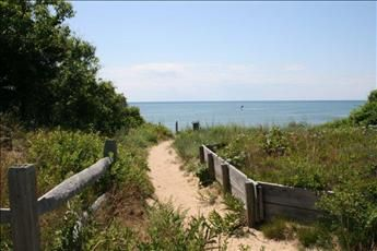 Path to the Beach means no need to drive and no parking fees!