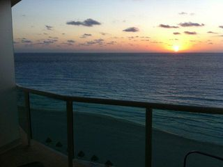 Cancun condo photo - Balcony Sunrise view