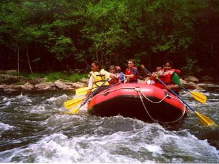 Lehighton house photo - white water rafting on the Lehigh River