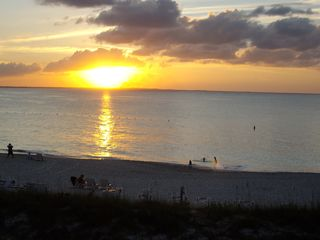 Providenciales - Provo condo photo - Sunset from our balcony