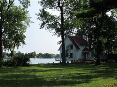 View of Cottage from the lawn.