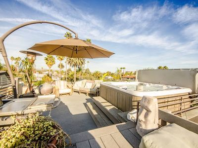 Breathtaking 360 degree view from the private roof deck.