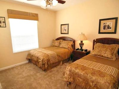 "Cozy 3rd bedroom with full & twin size beds, 32"" LCD TV, & play station 2"