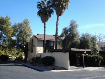 Las Vegas townhome rental - Our Home.
