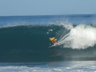 Sunset Beach house photo - Kelly Slater surfing Pipeline