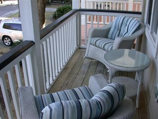 Fripp Island house photo - Porch off of queen bedroom