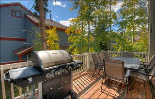 Breckenridge townhome photo - Grill All Year Round on the Back Deck