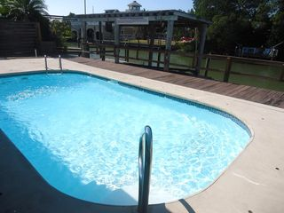 Fort Myers Beach cottage photo - .solar heated pool shared with the other 3 units