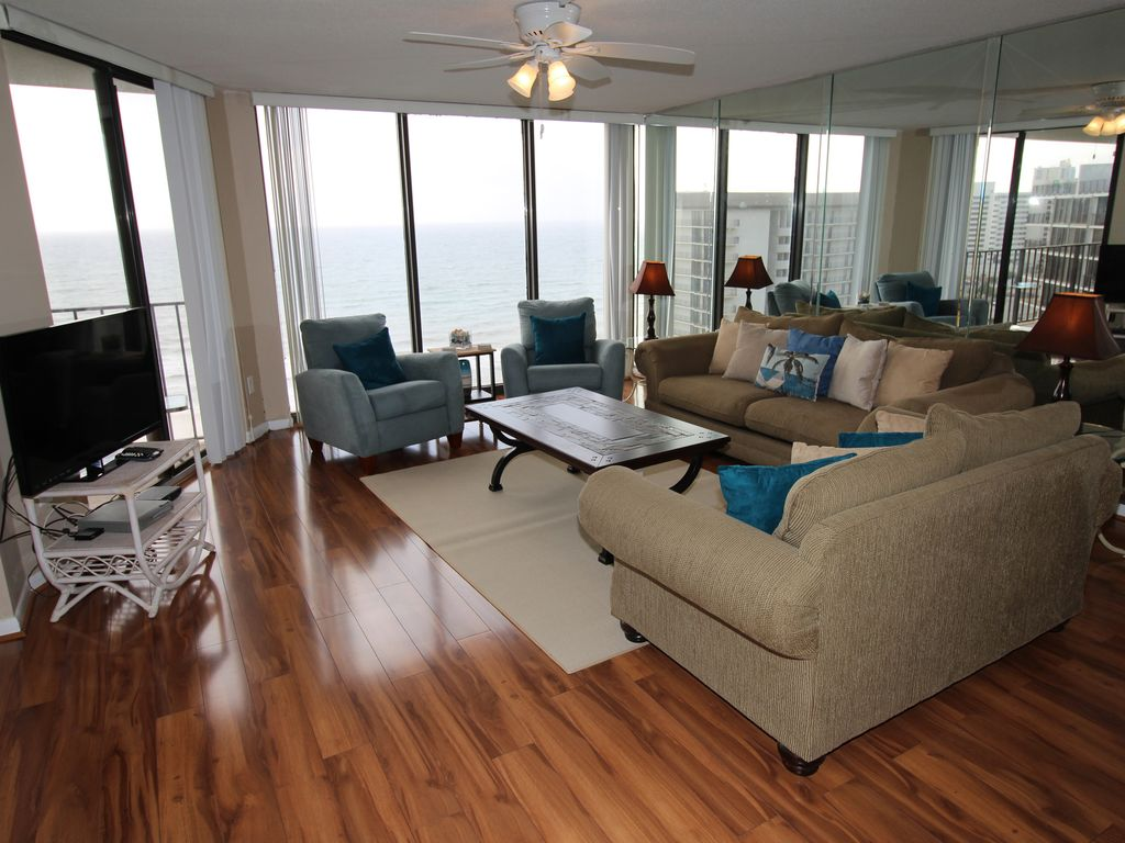 Living Room Upgrades Of 3br Edgewater Penhouse Best Deals Recent New Vrbo