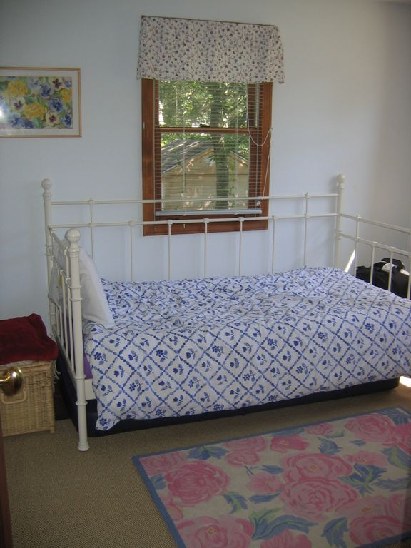 First floor bedroom with trundle bed