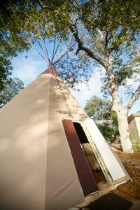 New Braunfels bungalow rental - Pictured Geronimo Creek Tipi Property, River Road will be coming Spring of 2013.