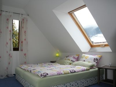 Bedroom 2 with double bed (alternative 1)
