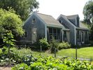 side view from large vegetable and flower garden - Truro cottage vacation rental photo